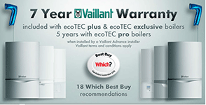 Vaillant 7 Year Warranty